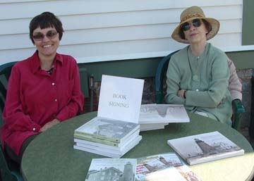 Book signing at Portland Head Lighthouse